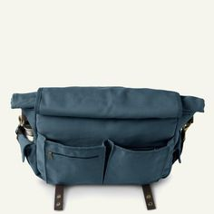 The Originals | Stewart | The Courier Bag 22L (Grey Blue)