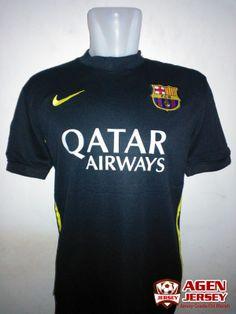 Jual Jersey Barcelona 3rd Musim 2013/2014 Murah - Kali ini Agen Jersey akan menawarkan jersey barcelona 3rd musim 13/14 yang di jual dengan harga murah dan terjangkau. Kualitas dari kostum ini adalah Grade Ori 99% mirip dengan jersey aslinya. Kem