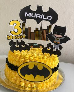 Batman Birthday Cakes, Batman Cakes, Batman Party, Minecraft Cake, Lego Cake, Minecraft Houses, One Direction Cakes, Planet Cake, Monster High Cakes