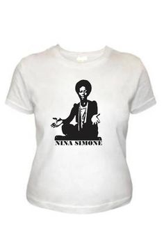 Baby look Nina Simone, tamanho M, G R$ 49,90