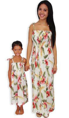 Super Cute Matching Hawaiian For S And Women Perfect Parties Or Luaus Why Not Dress In A Outfit With Your Little Princes