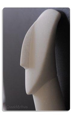 White Marble Cycladic Figurine by GreekMythos on Etsy, $72.00 @piscesandfishes @Sun San