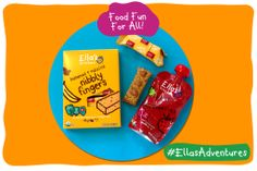 Make fun designs with food to engage your little one's sense of sight as well as smell and taste! http://ell.as/SOsfBdq