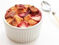 Strawberry & Brioche Bread Pudding by harriet