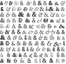 Ampersand tattoo ideas