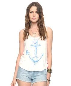 Twisted Anchor Tank | FOREVER21 - 2000035652
