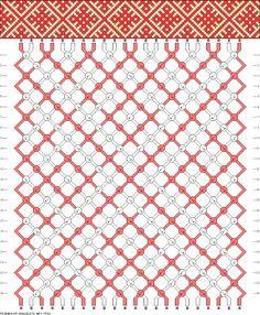 Slavic Patterns. Friendship Bracelets. Bracelet Patterns. How to make bracelets