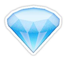 Diamond Emoji Sticker