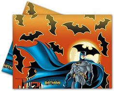 [Batman Birthday Party] Batman Plastic Tablecloth, 1.8m x 1.2m by Unique Party >>> Read more at the image link. (This is an affiliate link) #BatmanBirthdayParty