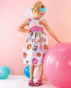 Blue Garden Dress by Noa Lily - Girls