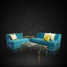Luna Bella Largo Sofa & Geraud Coffee Table IH602 - IHFC, Commerce, Floor 1 #LunaBella_inc #designonphmkt