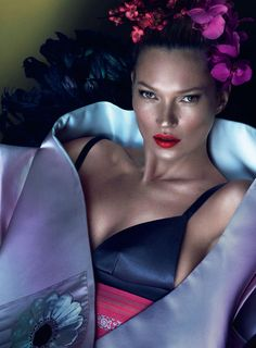 Kate Moss | Mert & Marcus | W March 2013
