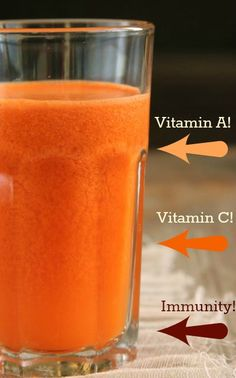 Carrot Orange Juice to boost your immunity!