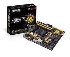 Asus A88XM-Plus Carte mère AMD Micro ATX Socket FM2+ #Asus #Plus #Carte #mère #Micro #Socket