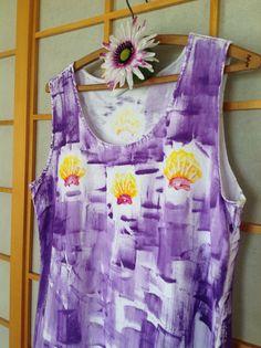 Vestito hawaiano  Womens Sundress  Plus Size di PetrinaBlakely