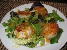 Sauteed Scallops in Miso Sauce ~ Main Dishes (dinner ideas)