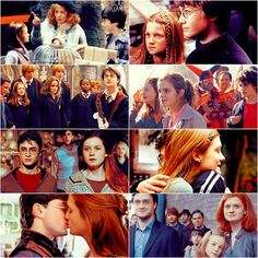 I love the way Rowling subtly developed their love story. Harry and Ginny are amazing couple because they are incredible characters on their own, who come together to become even greater in a world that needs more love.