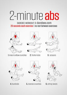 20 Stomach Fat Burning Ab Workouts From ! 20 Stomach Fat Burning Ab Workouts From ! Abs Workout Video, Abs Workout Routines, Ab Workout At Home, Abs Workout For Women, At Home Workouts, 300 Workout, Crossfit Motivation, Ab Routine, Week Workout