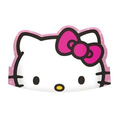 """Hello Kitty Rainbow 6"""" Paper Tiaras (8 Pack) - Party Supplies"""