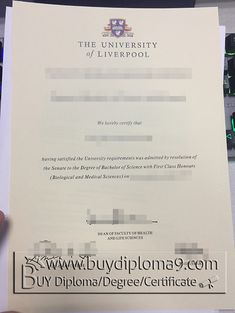 liverpool diploma, Buy diploma, buy college diploma,buy university diploma,buy high school diploma.Our company focus on fake high school diploma, fake college diploma university diploma, fake associate degree, fake bachelor degree, fake doctorate degree and so on.  Email: buydiploma@yahoo.com  QQ: 751561677  Skype, Cell, what's app, wechat:+86 17082892425  Website: www.buydiploma9.com