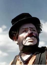 Otto Griebling - circus tramp clown http://famousclowns.org/famous-clowns/otto-griebling-circus-tramp-clown/
