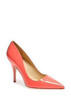 kate spade new york 'licorice too' pump available at #Nordstrom  Good to buy this in more than one color?? wear black/white/navy BAG..the rage