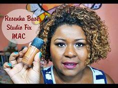 Maquiagem Pele Negra: Resenha base Studio Fix MAC