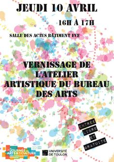 © Université de Toulon  Journée des arts et de la culture dans l'enseignement supérieur