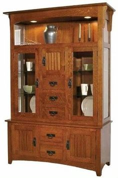 Liberty Mission Hutch 32010, Hutches, Valley View Oak Furniture, Mission Furniture #MadeinUSA