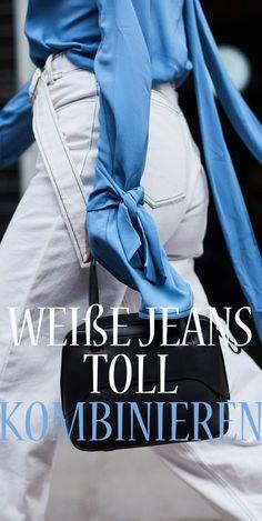 Sommertrend: So kombinieren wir die weiße Hose jetzt
