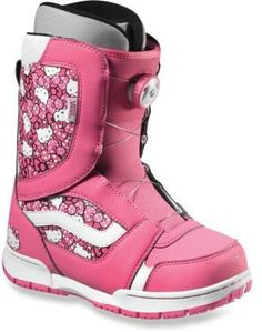 Any Hello Kitty fans in the house?! These snowboard boots are one of a kind #REIGifts