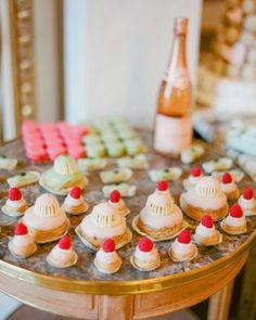 "See the ""The Desserts"" in our A French-Themed Destination Wedding in Paris gallery"