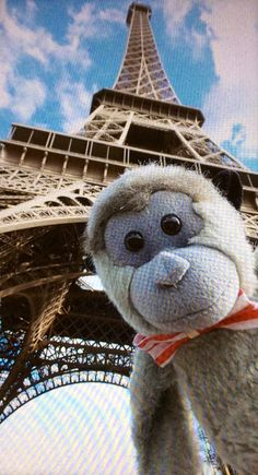 Bob at the Eiffel Tower.2015