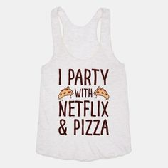 I Party With Netflix & Pizza #pizza #netflix #party #partypizza #partytime