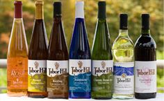 Tabor Hill wines - the best wines from Michigan.  We are so BLESSED to live only miles from this well established winery and restaurant!