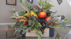 Fruit and Ivy Treasure Chest on Etsy, $64.00