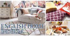 English Home'da eviniz için en güzel ürünlerde indirimi kaçırmayın! 28 Şubat 2015 tarihine kadar geçerlidir.