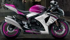 Bikeskinz - Motorcycle Graphics - Jive Pink