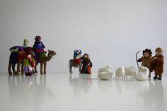 kerststal, Jozef en Maria op weg naar Bethlehem, antroposofisch, seizoenstafel,