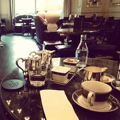 Why work when you can tea?   @Langham_London #thelangham #London #teatime by burlingtonlondon