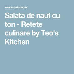 Salata de naut cu ton - Retete culinare by Teo's Kitchen