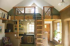 Straw Bale Homes | Straw Bale Hybrid Home Pictures: Building A Small House That Feels ...