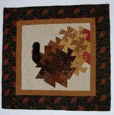 Turkey twist quilt pattern