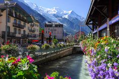 Chamonix, France - quick trip to the Alps after the cruise