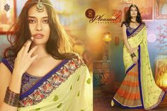 Sale.sale    Swagat saree Heavy Designer Saree (original Rates between 2995/- to 3595/-) Flat Sale rate: 2550/- Single and multiple pics available Start booking your order now fast.... Fabrics: Heavy Georgette with Heavy soft net With Heavy Embroidery designer work For more details and order ping us on sbtrendz@gmail.com or Whatsapp 91 9495188412; Visit us on http://ift.tt/1pWe0HD or http://ift.tt/1NbeyrT to see more ethnic collections. #Lehenga #Gown #Kurti #SalwarSuit #Saree #ChiffonSaree…