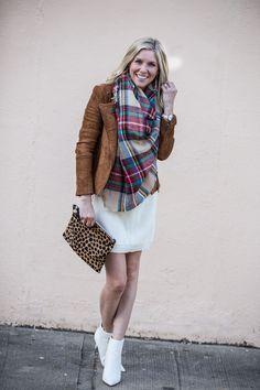 c0e6e4cd3e8 Fall Faux Suede Jacket and Sweater Dress