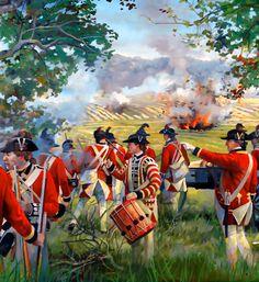 British Redcoats in battle