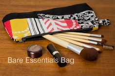 Make-up bag pattern very cute and looks easy