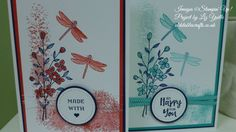 Stampin Up Tutorials - #72 Touches of Texture options