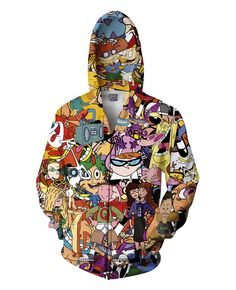 Totally 90s Zip-Up Hoodie -- Get an extra 10% OFF with Discount Code  BJXRAGE10 -- even on most sale items!